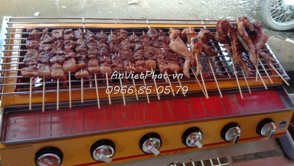 Bếp nướng cánh gà 8 họng do An Việt Phát sản xuất